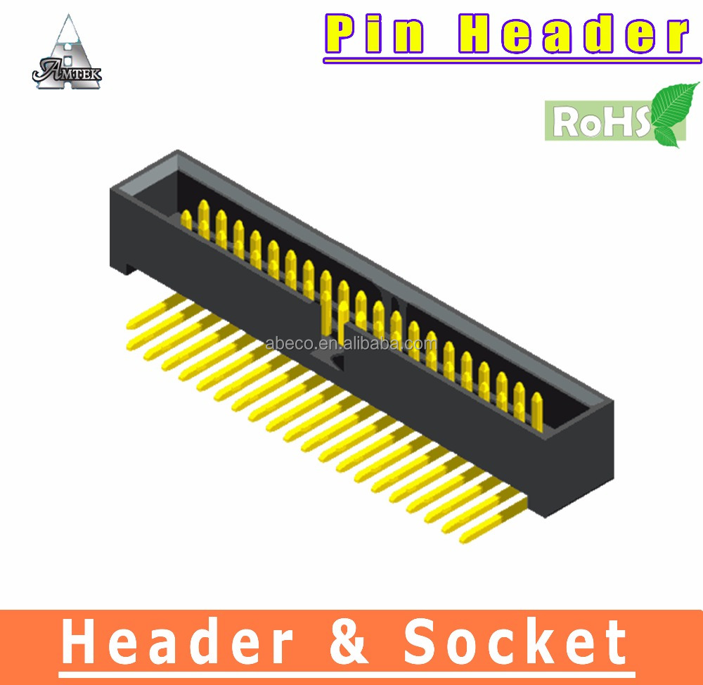 PCB Connector 1.27 x 1.27mm pitch IDC Box Header