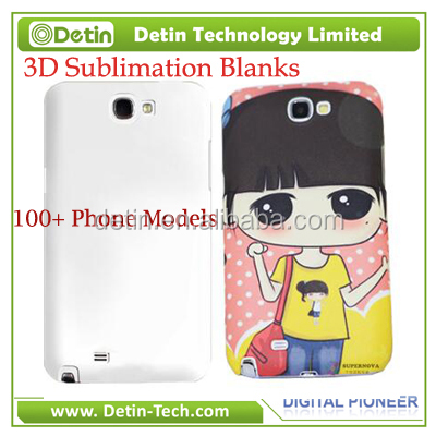 Blank 3d sublimation phone case sublimation cell phone cases for iPhone Samsung Galaxy