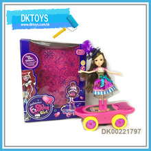 Hot Sale New Beautiful Baby BO Fashion Skate Board Automatic With Light Music Lifting Spin Fun Play Kid Toys