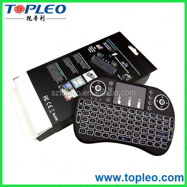 waterproof backlight keyboard i8 mini wireless keyboard and mouse for ipad