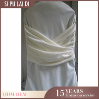 wholesale fancy Custom luxel hotel cheap universal party scuba stretch chair covers