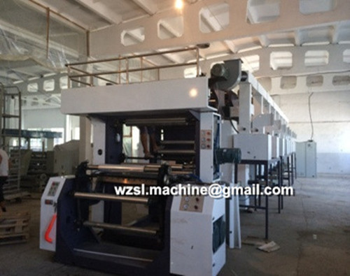 Full automatic new plastic High-Speed Rotogravure Printing Machine,Computer automatic gravure printer
