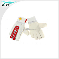 Size 9 finger saving EVA latex PVC goalkeeper gloves