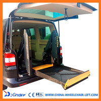 Hot sale WL-D-880 Power Dual Arm Wheelchair Lift for Van and Minivan