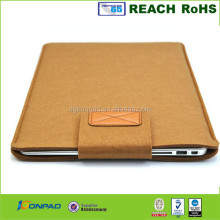 special felt laptop bottom case for dell
