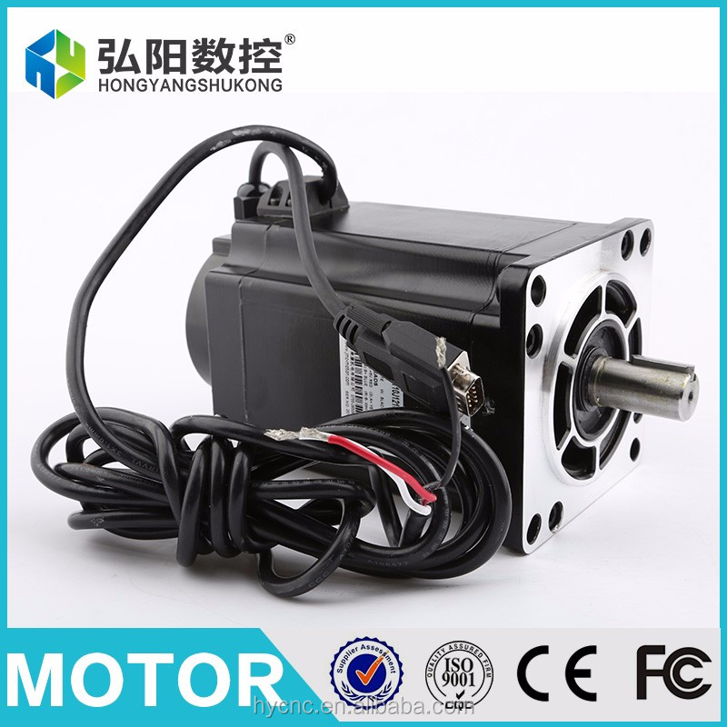 JMC easy servo hybrid servo motor and driver for CNC router cutting machine more stable than stepper