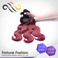 2016 hot hair salon styling stations 7a grade virgin hair,two tone remy hair extension,two tone ombre colored hair weave bundles