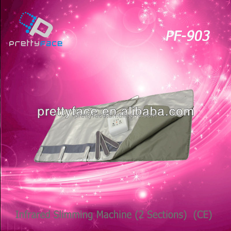 PF-903 far infrared sauna blanket ,weight loss electric blanket for hot sale