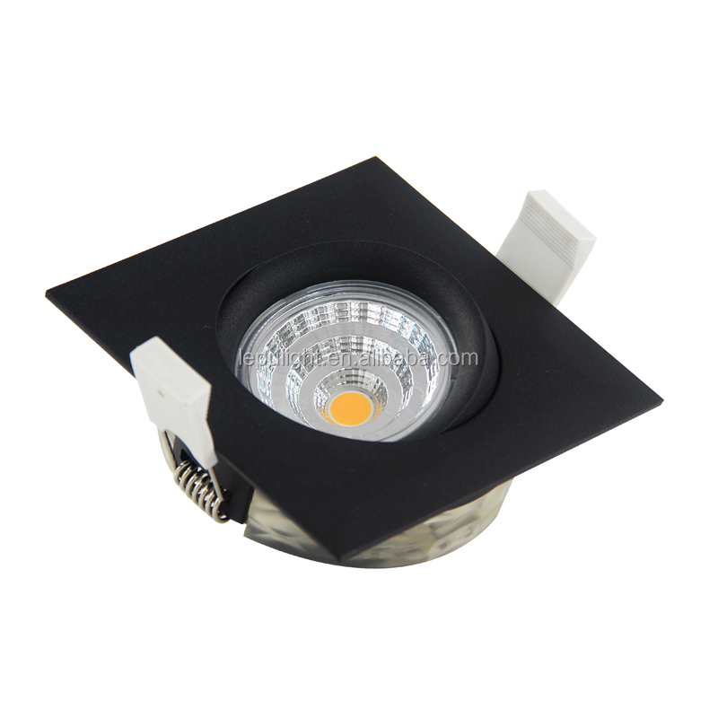CCT Adjustable Gyro Recessed 9W Led COB Downlight