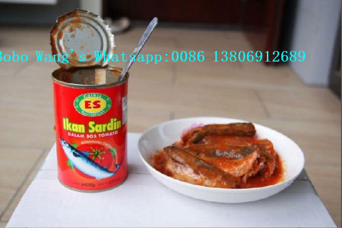 Canned Mackerel in Tomato Sauce 155g/425g