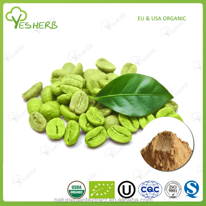 Factory green coffee bean extract on sale
