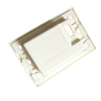 ABS+PC Injection molded plastic cover for lighting switch