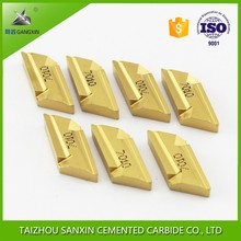 high quality P10 P20 K10 K30 tungsten carbide turning inserts KNUX160405L12 cemented carbide brazed tips for CNC lathe