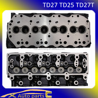 Engine cylinder head for td27(TD27 TD27-T 2.7 TD/D L4 96.00 SOHC 8 909011)