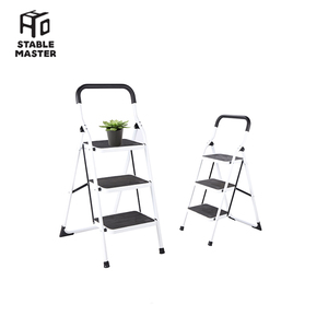 6.4KG step 3 store folding step ladder plant stand on sale SM-TT6023A