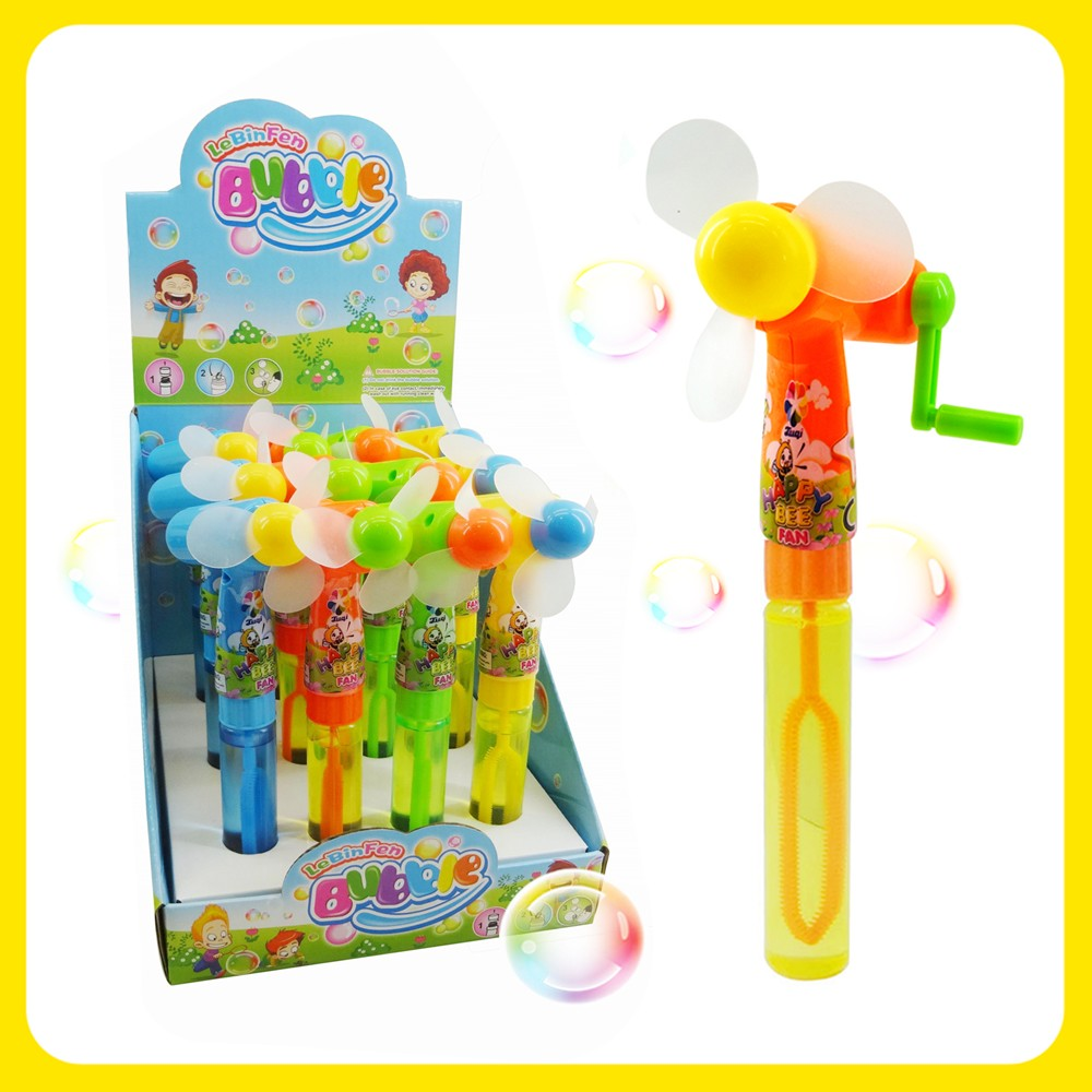 Friction Powered Bubble Fan Toys for Kids From Shantou Toys Factory