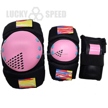 600D PU 6 pcs knee pads protect set Safety protective gear pads set