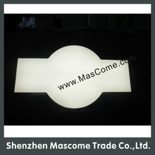 advertising single side tube light box ,Design particularly ,pattern of letters