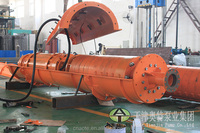 mining submersible motor pump in open pit