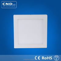Wholesale american led panel light price 18w withe aluminum frame die casting rohs