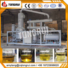 reduce pressure vacuum distillation oil refinery for used engine oil