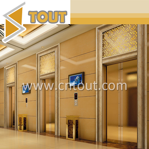 Decorative Elevator Door Cabin Stainless Steel Wall Panel For Sale