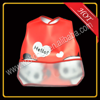 custom Eco friend Waterproof baby bib,EVA baby bib