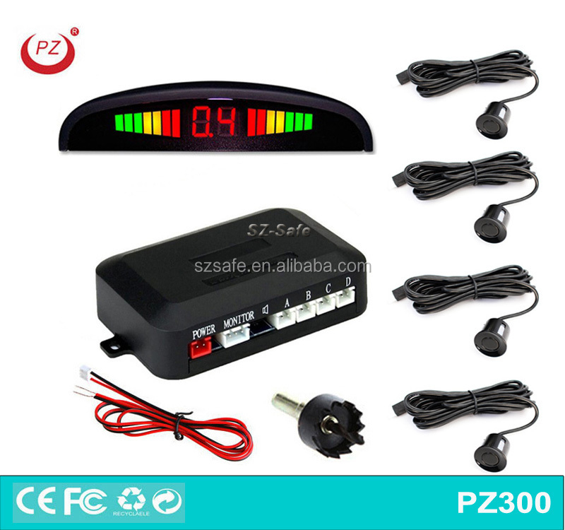 12V car backup reverse parking accident sensor