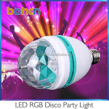 rgb led rotating bulb,rotating lamp bulb