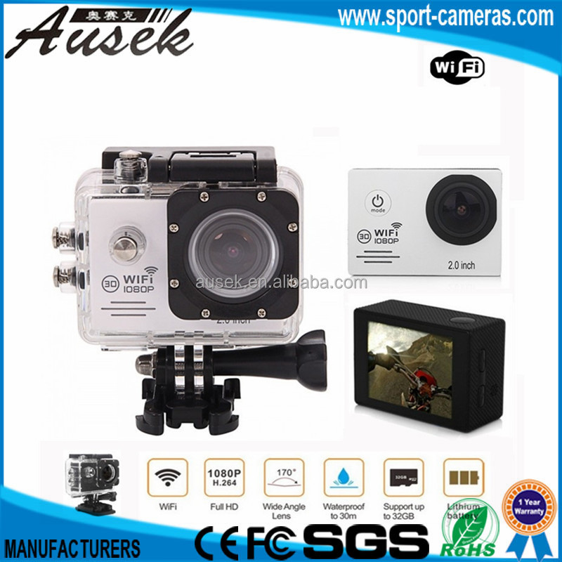 Go pro waterproof B2G original Camera hd 1080p wifi factory wholesales