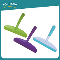 Toprank Colorful Large Rubber Squeegee Blade Shower Window Squeegee Wiper Cleaner With TPR Handle