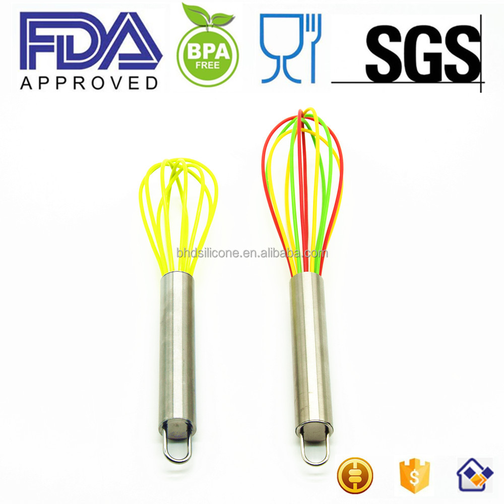Stainless Steel Hand Whisk Egg Frother, Stainless Steel French Whip