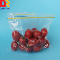 High quality bag with lock ziplock bag packing food fruit