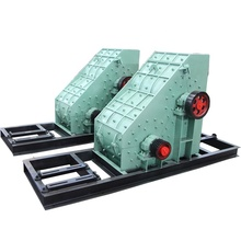 Easy and simple to handle,reliable quality double rotor hammer crusher for sale