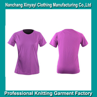 Solid Dry Fit Unisex Sport T-Shirt / Wholesale Polyester Mesh Garment Shopping online