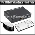 3 Port HDMI Switch Switcher Selector + Remote control,YAM304A