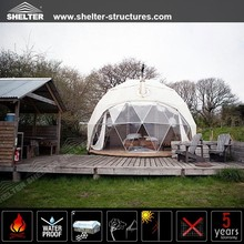 Transparent Garden Igloo Geodesic Dome For Sale,PVC Cover