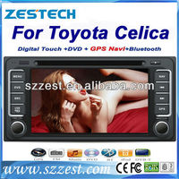 ZESTECH DVD Supplier 2Din Touch screen Car Radio for Toyota Celica Car Radio With Gps Navigation System Bluetooth TV Ipod Usb SD