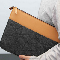 Large Felt Laptop bag Durable Computer Messenger Bags for 17