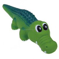 Hot Sale pure and natural pet crocodile latex toy for dogs
