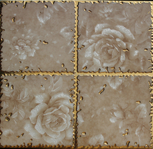 30*30 gilding pink ceramic bathroom digital wall <strong>tile</strong>