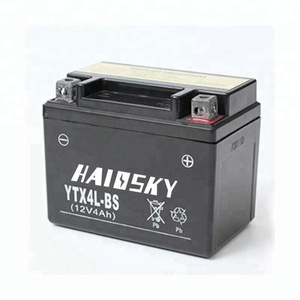 Haissky YTX4L-BS 12v 4ah for suzuki burgman 650 dry charged motorcycle battery