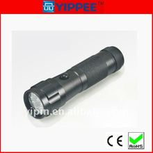 Middle pressing switch 14led flashlight torch