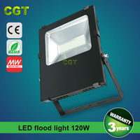 120W 150W 200W high power Led flood light Meanwell driver 110lm/w CE ROHS approved