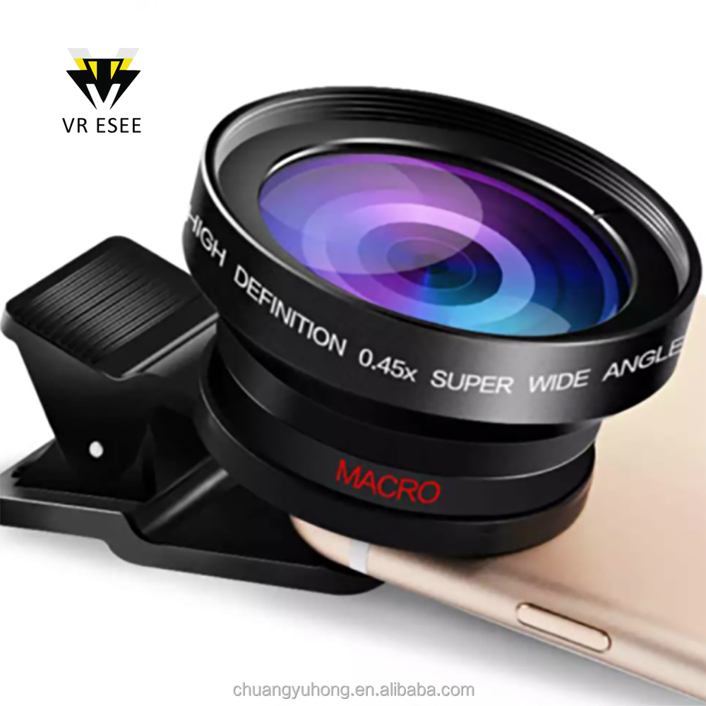 2016 New Products Camera Phone Lens Universal 3 In 1 OEM/ODM Mobile Camera Lens