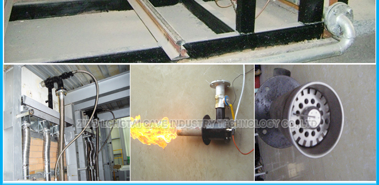 Industrial LPG And Gas Burner For Furnace