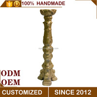 Magnesium Oxide Tall Antique Candle Holder