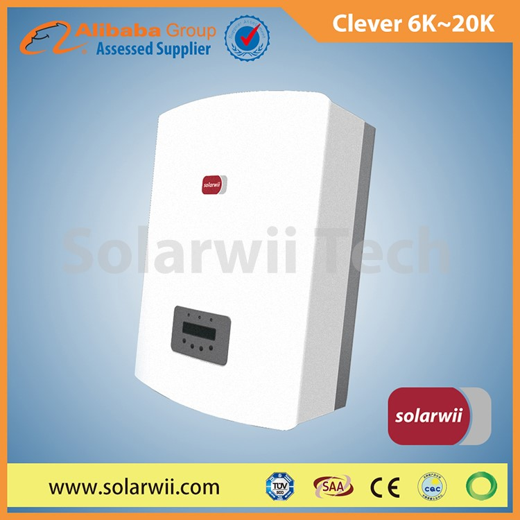Solarwii 6K to 15K Clever Series on grid inverter solar energy product | solar energy product