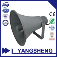 black professional high power horn loudspeaker
