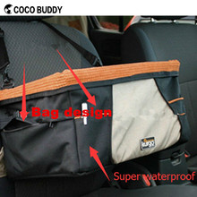Waterproof oxford material pet dog carrier booster seat bags new design